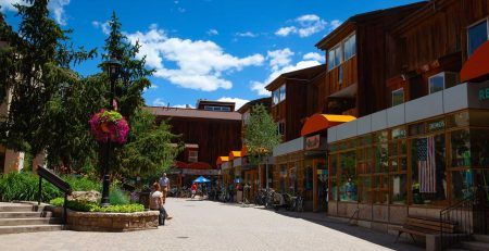 Shops in Vail, CO